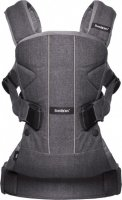 Сумка-кенгуру Baby Bjorn Baby Carrier One Cotton Mix Denim grey (98094) - фото