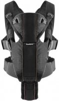 Сумка-кенгуру Baby Bjorn Baby Carrier Miracle Mesh Black (96002) - фото