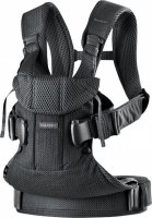 Рюкзак Baby Bjorn Baby Carrier One Black Mesh Чорний (98025) - фото