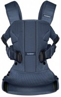 Сумка-кенгуру Baby Bjorn Baby Carrier One Air Navy blue / Mesh (98008) - фото