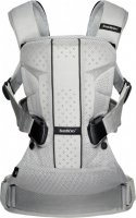 Сумка-кенгуру Baby Bjorn Baby Carrier One Air Mesh Сіра (98004) - фото